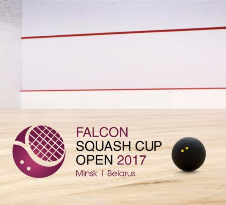 Translation of final games of Falcon Squash Cup Open 2017