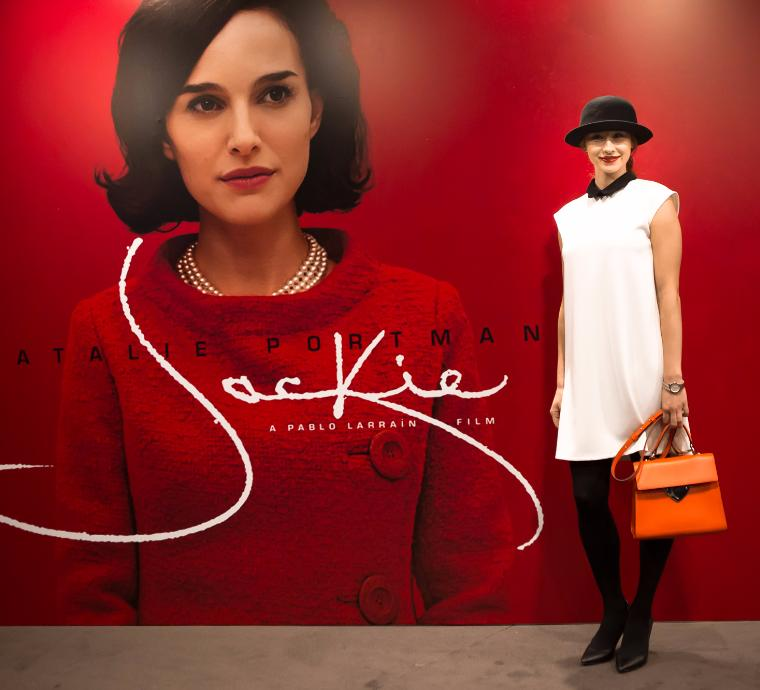 MINSK WOMEN ATTENDING SCREENING OF JACKIE AT FALCON CLUB CINEMA BOUTIQUE