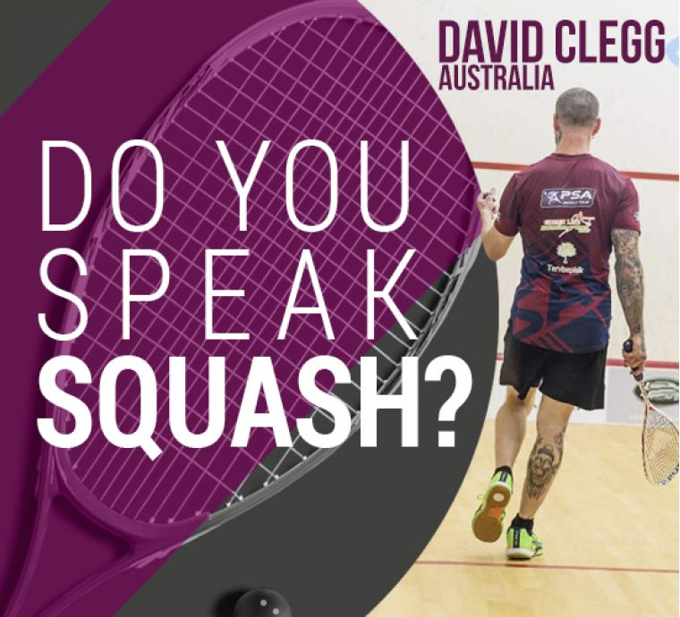 SQUASH CAMP WITH DAVID CLEGG