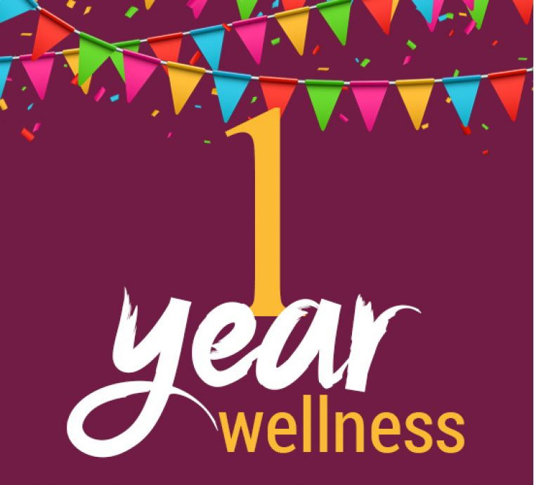 Falcon Club Wellness - 1 year together