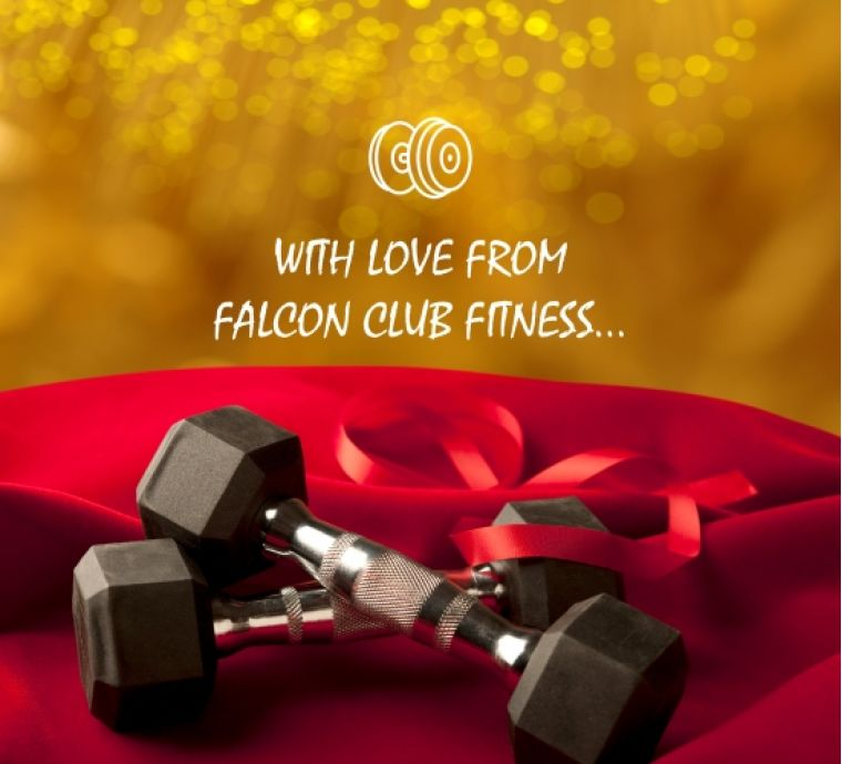With love from Falcon Club Fitness…